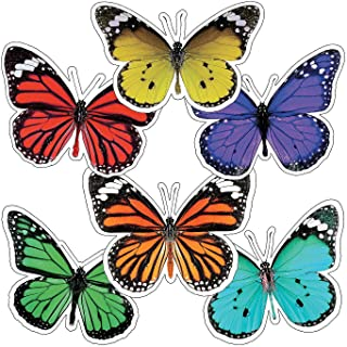Fun Express - Sgs Woodland Whimsy Butterfly Bb Cutouts - Educational - Classroom Decorations - Bulletin Board Decor - 36 Pieces