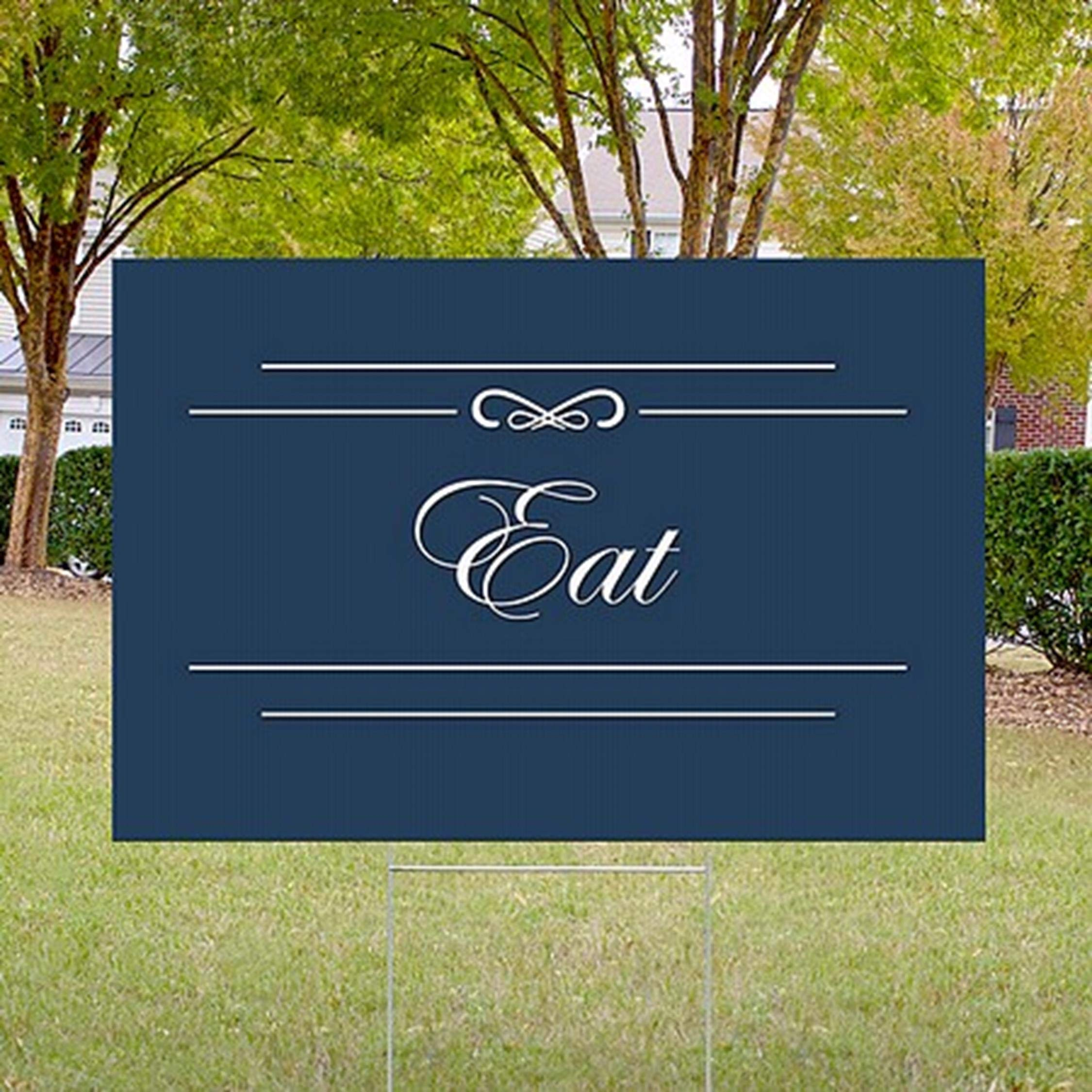 CGSignLab 5-Pack 18x12 Seasonal Sale Ghost Aged Blue Double-Sided Weather-Resistant Yard Sign
