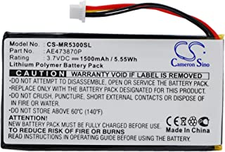 Cameron Sino 1500mAh / 5.55Wh Replacement Battery for Magellan Maestro Elite 5340