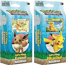 Let's Play Pikachu & Eevee! TCG Both Theme Decks Trading Card Game