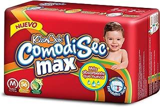 KleenBebé Comodisec Pañales Unisex, Mediano, Paquete de 56 Piezas