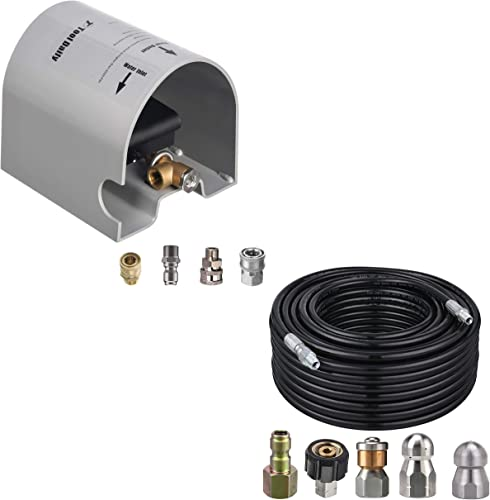 2021 Tool Daily Foot Valve Kit for online sale Sewer Jetter Hose, Sewer online Jetter Kit for Pressure Washer outlet sale