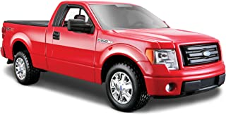 Maisto 127 Scale Red 2010 Ford F-150 STX Diecast Vehicle