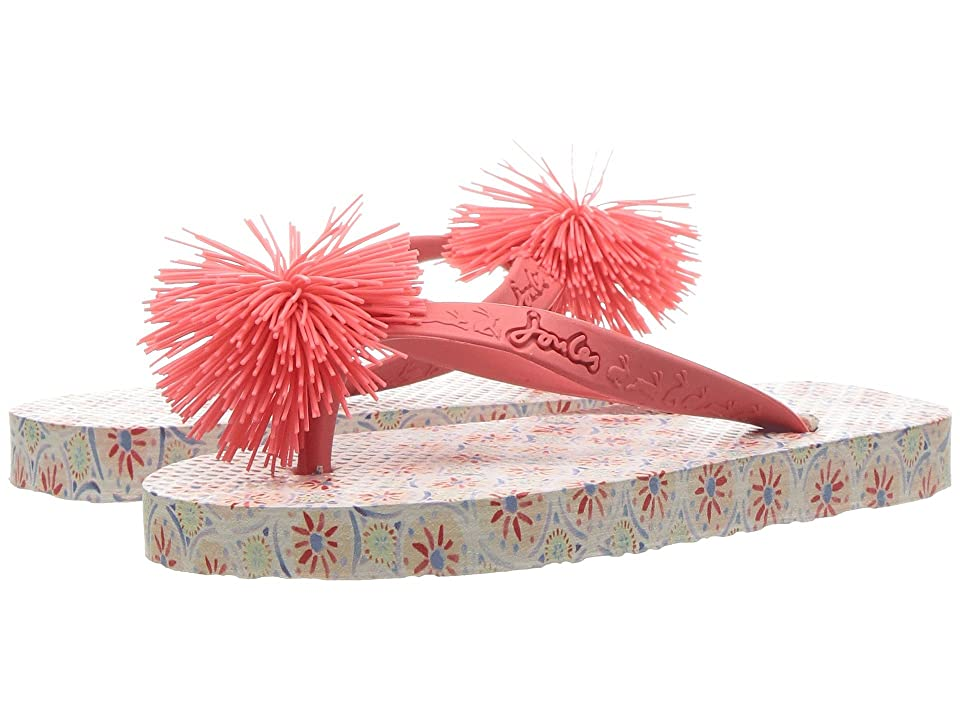 Joules Kids Flip-Flop (Toddler/Little Kid/Big Kid) (Cream Summer Mosaic) Girls Shoes