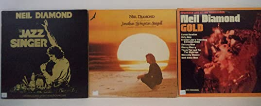 Neil Diamond Lot of 3 Vinyl Record Albums The Jazz Singer and more
