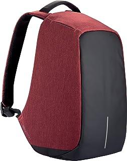 XD Design Bobby Original Sac à Dos Antivol Portable Rouge avec Port USB (Unisex)