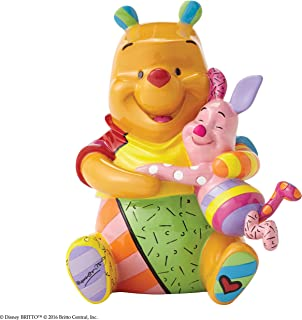 Disney by Britto Pooh and Piglet Stone Resin Figurine