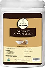 Naturevibe Botanicals Organic Ajwain Seeds, 5lbs | Trachyspermum ammi | Non GMO & Gluten Free | Helps in Digestion | Adds Flavor ( 80 ounces)
