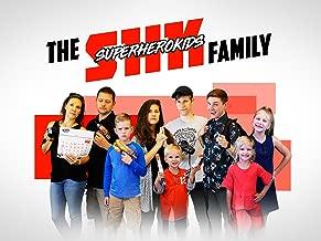 The Super Hero Kids Family