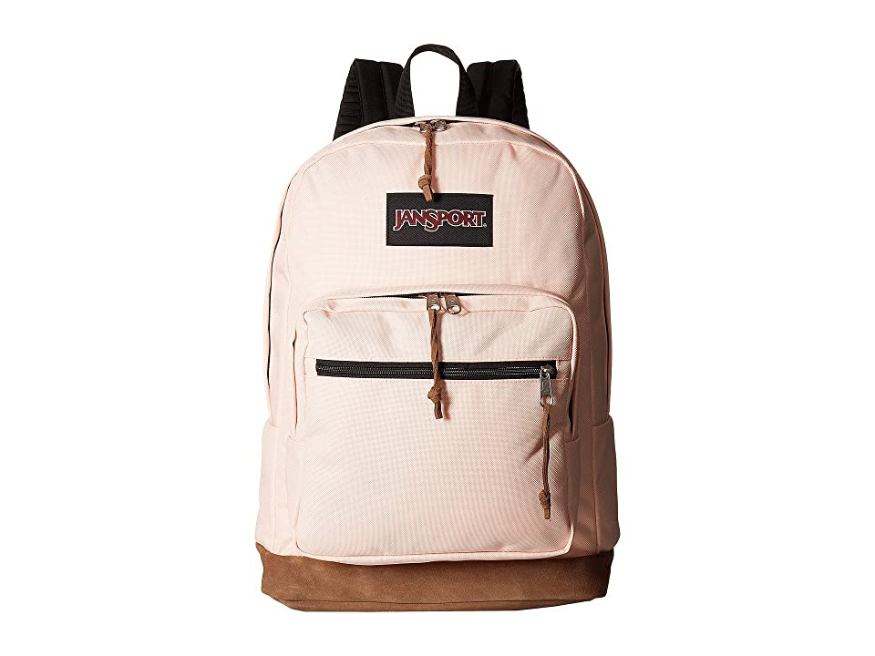 JanSport Right Pack (Powdered Peach) Backpack Bags