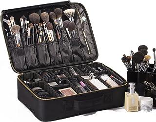 "ROWNYEON Portable EVA Professional Makeup Case 16.14"" Makeup Artist Case Makeup Train Case Makeup Artist Organizer Bag"