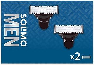 Amazon-merk: Solimo 2 reservemesjes voor elektrisch scheerapparaat