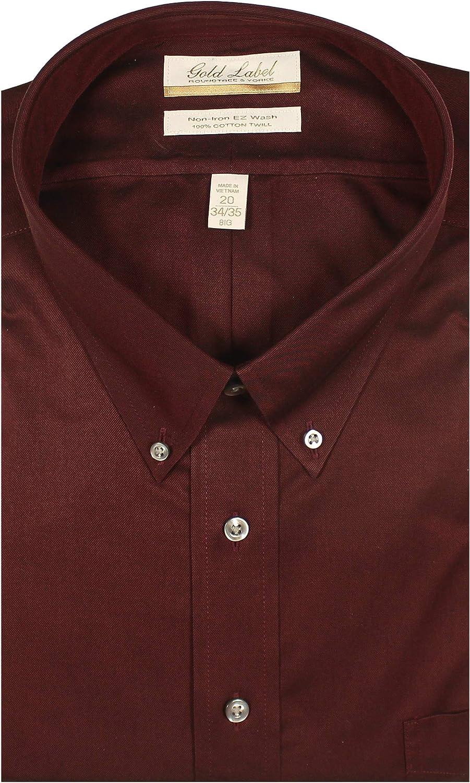 Gold Label Roundtree & Yorke mens Mens Long Sleeve Dress Shirt