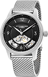 Stuhrling Original Wrist Watch, Stainless Steel, 977M.02, Analog Display, For Unisex