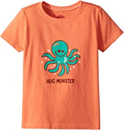 Life is Good Kids Hug Monster Crusher Tee (Toddler)