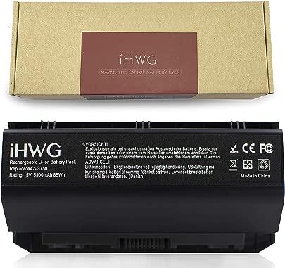 iHWG G750 Akku f r ASUS G750 G750J G750JZ G750JXW G750JX G750JS G750JH Serie Kompatibel G750JM G750JS G750Y47JX-BL 15V 88Wh Schätzpreis : 49,99 €