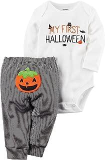 Carter's Baby 2-Piece Bodysuit Pants Set 18 Months White