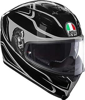 Casco Integral AGV K-5K5S plk Magnitude Negro Gris Black Silver Helmet