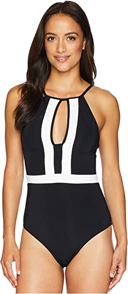 Classique High Neck One-Piece