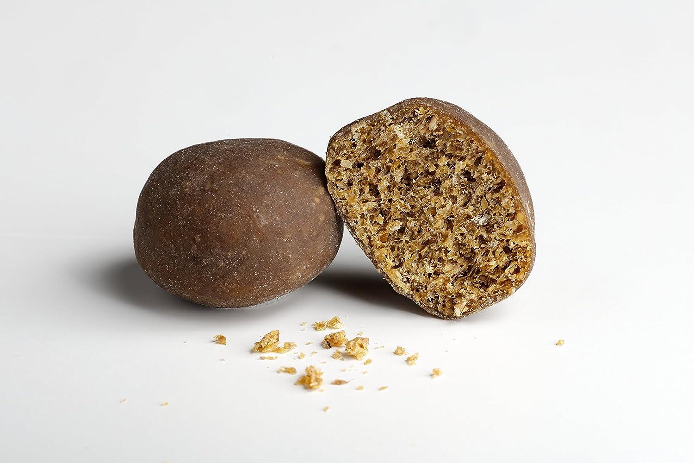 GimCat Crispy Bits – Snack crujiente de carne para gatos, con ingredientes funcionales – Sin azúcar añadido – Multivitaminas – 3 bolsas (3 x 40 g)
