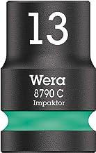 Wera 05004570001 8790 C impaktor hylsnyckelinsats 1/2 tum, turkos, 13,0 mm