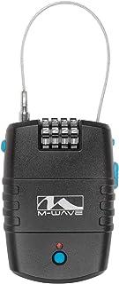 M-Wave Lock 'N' Roll Alarm Lock, Black