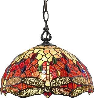 Amora Lighting Tiffany Style Hanging Pendant Lamp 14