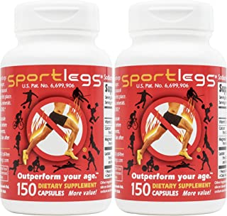 Sportlegs SportLegs Supplement Bottle of 150 Capsules (Pack of 2)