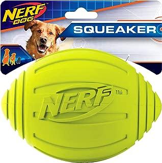 Nerf Dog Ridged Squeaker Football