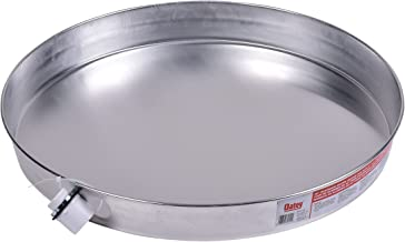Oatey 34151 Aluminum Water Heater Pan with 1-Inch Fitting, 20-Inch
