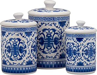 Best blue and white canister Reviews