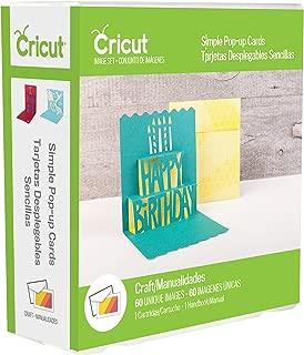 Cricut 2002698 Cartridge Simple POP UP Cards
