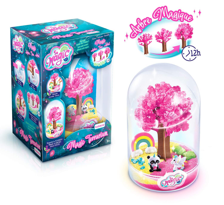 Canal Toys MSG 009 SO DIY So Magic - Terrario Grande para Hacer Crecer – Diseño de arcoíris: Amazon.es: Juguetes y juegos