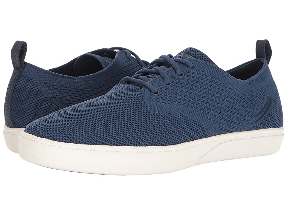 Mark Nason Union (Navy Flat Knit/White Bottom) Men