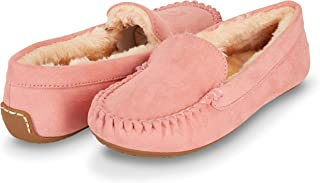 womens tan moccasin slippers