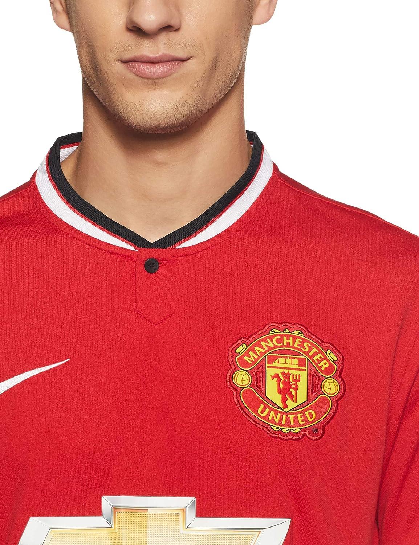 NIKE Manchester United Home Stadium - Camiseta/Camisa Deportiva para Hombre
