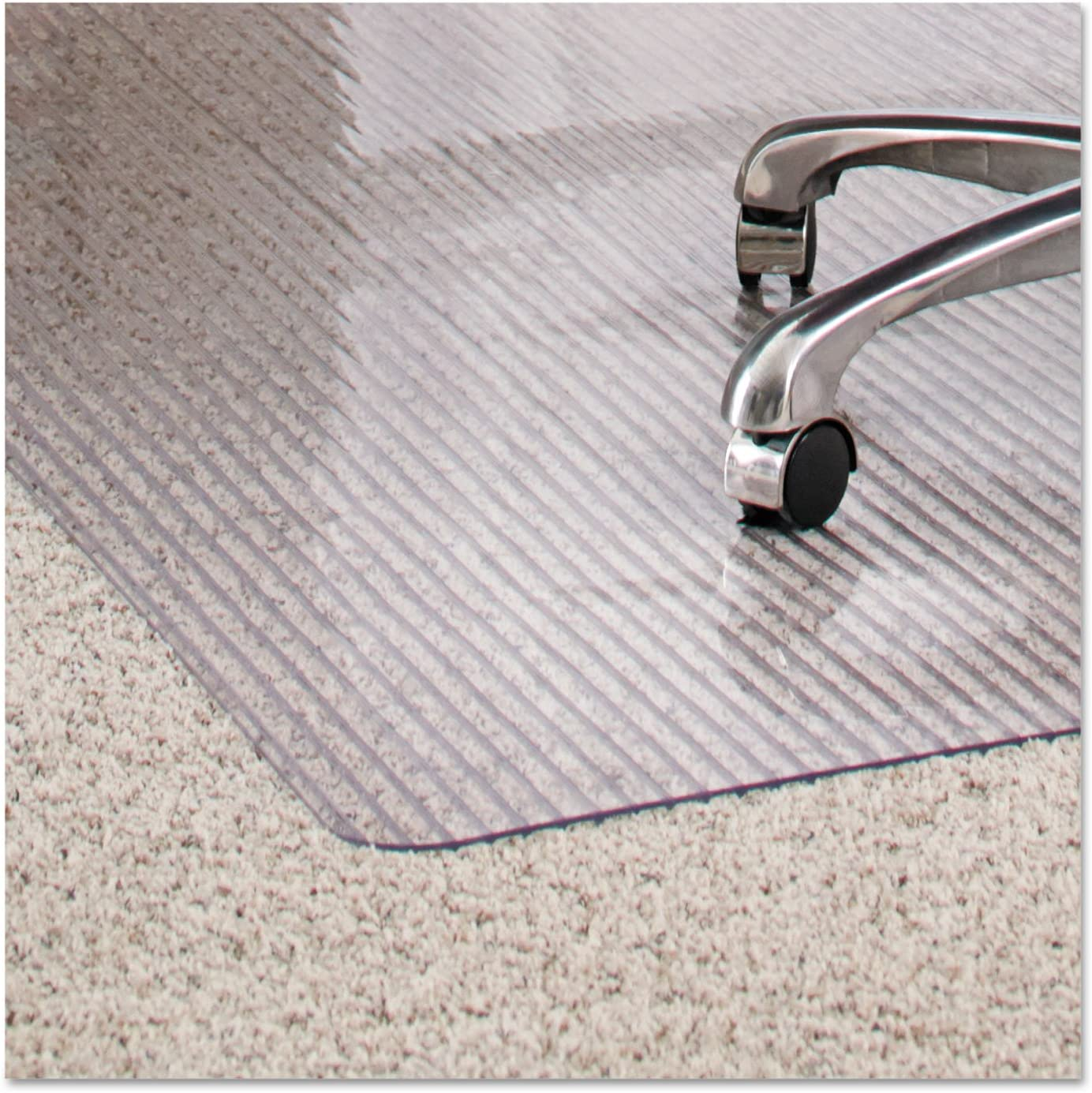 ES Robbins New product type Dimensions Chair Mat Dedication for x Carpet 48 Clear 36