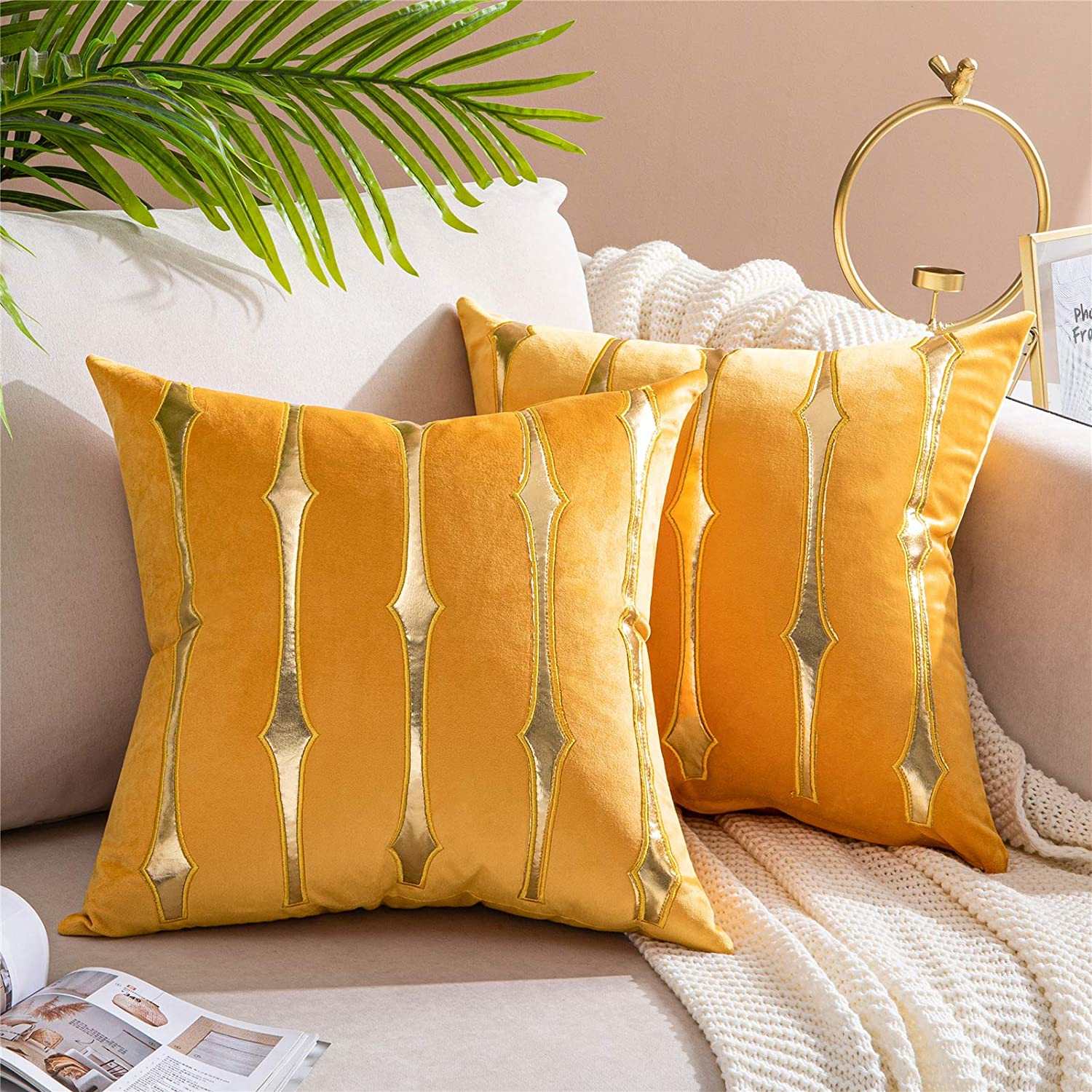 Animer and price revision Topfinel Decorative Pillow Covers Max 44% OFF Cove Throw 18x18 Inches