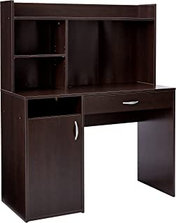 Sauder 413084 Beginnings Desk with Hutch, L: 42.91