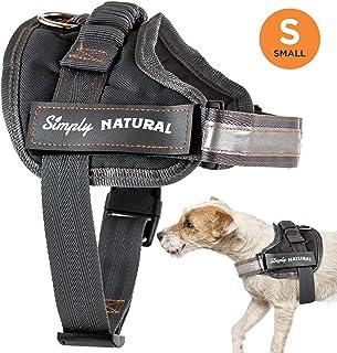 2490d3be539 Simply Natural Arnés para Perros Arnés para Perros Pequeño A Prueba de  Escape con Cierres de