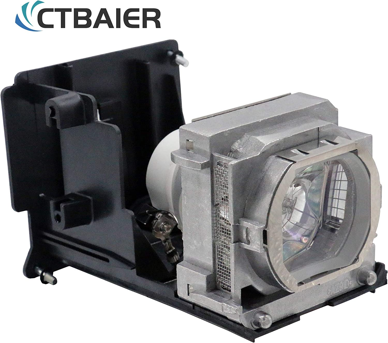 CTBAIER VLT-HC6800LP / 915D116O13 Projector Lamp Bulb with Housing for Mitsubishi HC6800 HC6800U