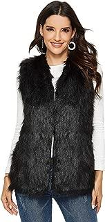Best dolce cabo black fur vest Reviews