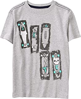 Gymboree Boys' Little Short Sleeve Fun Graphic Tee
