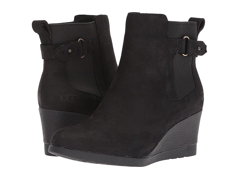 UGG Indra Waterproof (Black) Women