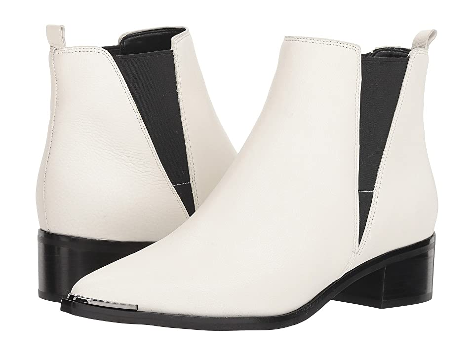 Retro Boots, Granny Boots, 70s Boots Marc Fisher LTD Yale Chic CreamBlack Womens Dress Pull-on Boots $178.95 AT vintagedancer.com