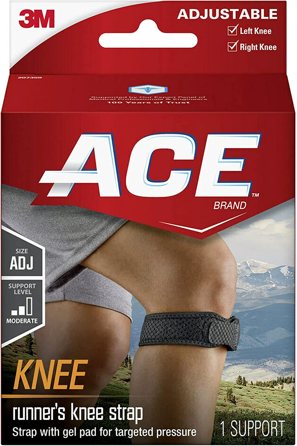 Ace Knee 100% quality warranty Strap We OFFer at cheap prices Size Adjustable One