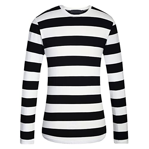 Black and White Striped: Amazon.com