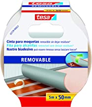 Tesa 55729-00021-00 afneembare biadhesive tape, 5 m: 50 mm