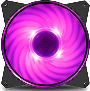 Cooler Master MasterFan MF140R RGB 140mm PWM Fan - Black Frame - R4-140R-15PC-R2
