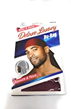 Dream Deluxe Du-Rag Burgundy - Smooth & Thick, Superior Quality, Stretchable, Wrinkle Free, 100% Polyester